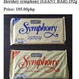 "Hershey""s Symphony Giant Bar"