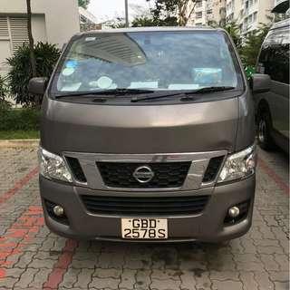 Van Rental, Nissan Nv350