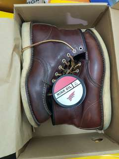 Red wing shoes 8138