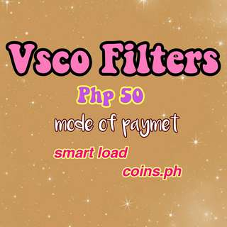 Vsco All Paid Filters