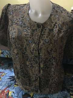 Retro Vintage Top Blouse