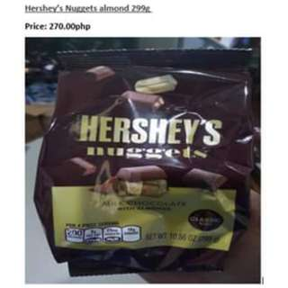 Hershey's Nuggets Almond 299g