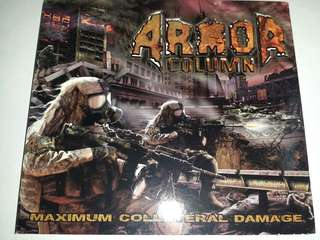 Music CD (Metal): Armor Column ‎– Maximum Collateral Damage - Thrash Metal