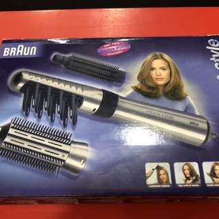 BRAUN volume and style professional for drying and styling