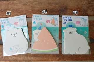 [P]Polar bear post it notes