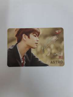 【Yes!card】Astro銀簽