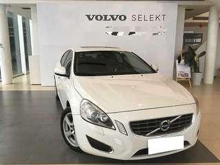 2012 S60 1.6T 白色