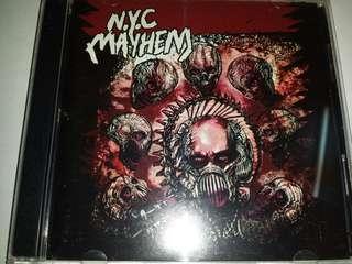 Music CD (2xCD): NYC Mayhem–The Metal Days / The Crossover Days - Hardcore, Thrash Metal, Crossover