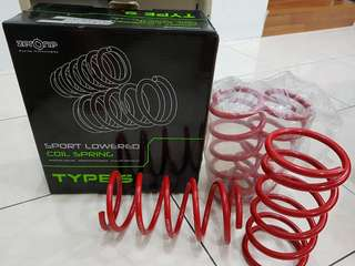 ZerOne Sport Lowered Coil Spring for Myvi