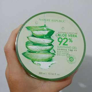 Nature Republic Aloevera 100% original