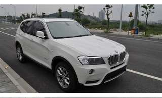 2012 X3  2.0 20D  4WD 白色