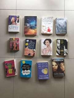 Various Fiction & Non-fiction books