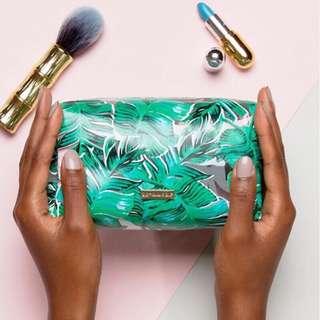 🚚 英國Skinnydip ✈️Palm Print Make Up Bag化妝包
