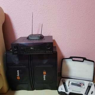B Kara Karaoke System Set