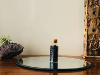 Black salt // Ritual salt