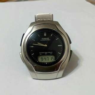casio AW-E10 行針跳字電子石英錶(非seiko)