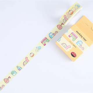 Sumikko Gurashi Yellow Washi Tape #164
