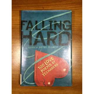 Falling Hard by Besty Franco (Hardcover Poetry Book)