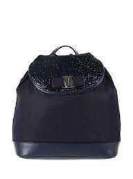 Ferragamo背包(宝藍色/黑色) 特價