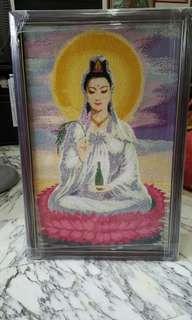 "Guan Yin Pusa ""3D Diamond Pasting"""