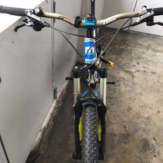 Customized Full Sus MTB Mongoose Teocali