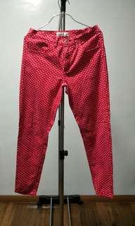 Red Polka Dots Pants❤