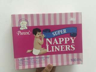 FREE Pureen Nappy Liners