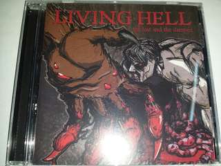 Music CD: Living Hell – The Lost And The Damned - Hardcore, Revelation Records