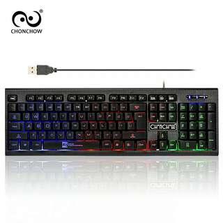 LED Light Gaming Keyboard