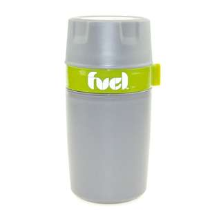 TRUDEAU Fuel Double Wall Food Container 12oz (Mint Green)
