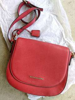 MK Sling Bag Red