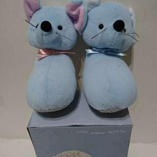 🚚 可愛鼠粉紅豬竹碳鞋撐二色價格