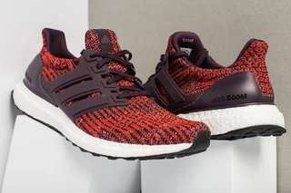 Adidas Ultra Boost 4.0 Noble Red US12.5