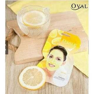 Ovale Facial Mask Lemon