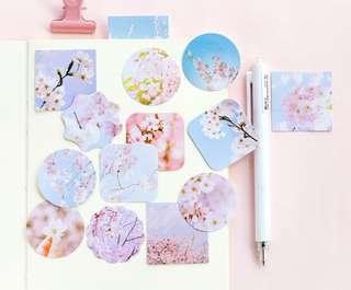 Sakura Bloom Scrapbook / Planner Stickers #114
