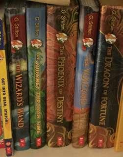 Collection of Geronimo Stilton Books