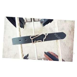 Replacement Braun Buffel leather belt (custom made)