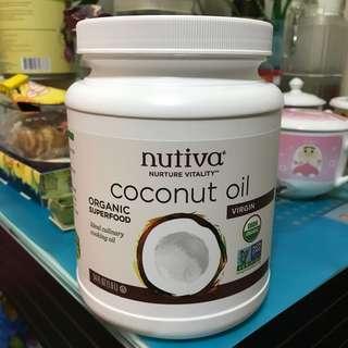 Nutiva有機初榨椰子油 Coconut oil 54oz/1.6L