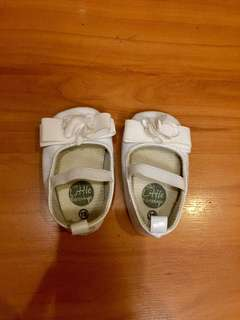 White Crib Shoes