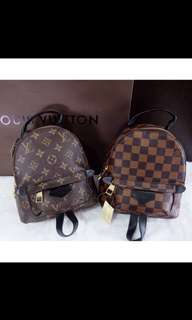 FREE ONGKIR BACKPACK MINI LV/Tas lv ORIGINAL