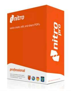 Nitro Pro PDF Editor, Viewer, Creator, Converter Reguster under you Name