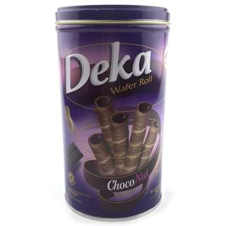 DEKA Wafer Roll ~ CHOCO NUT