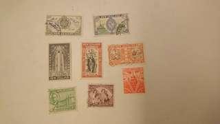 新西蘭郵品一份