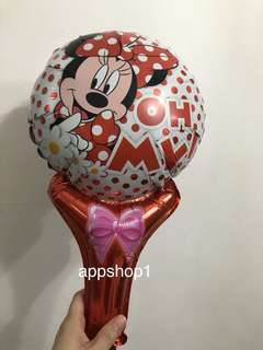Minnie Mouse handheld balloons 🎈 goodies bag, goody bag packages
