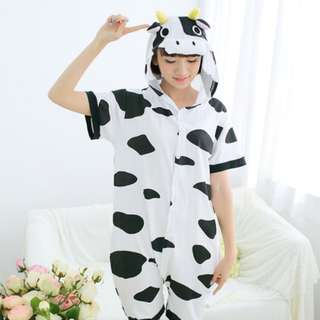 Cow Short Sleeve Adult Onesie