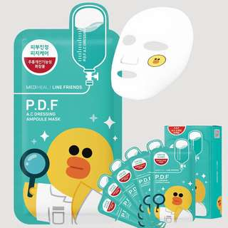 Mediheal Mask Line Friend P.D.F Green
