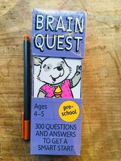 Brain Quest php500 each