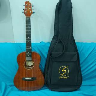 1/2 size Samick Greg Bennett acoustic guitar