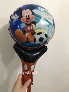Mickey Mouse handheld balloons 🎈 event door gift, baby shower goody bags gift, birthday party event activity