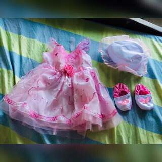 Set Christening/Baptismal Dress